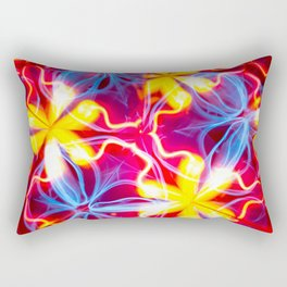 Multicolored flowers Rectangular Pillow