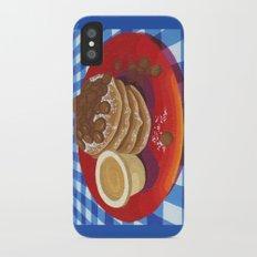 Pancakes Week 4 Slim Case iPhone X