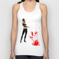 avenger Tank Tops featuring Avenger Mother by Alessandro Turetta