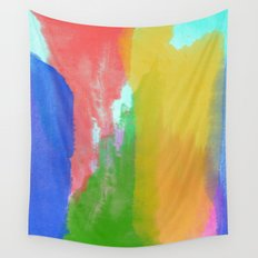 Colorful Paint Wall Tapestry