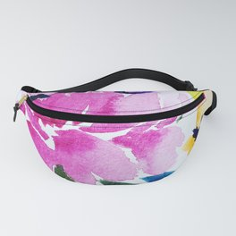 Painted Peonies Fanny Pack