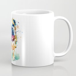 Watercolor Bulldog Coffee Mug