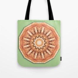 Colors of Rust, mandala 02 Tote Bag