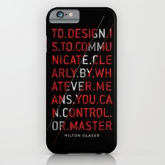 To Design by Milton Glaser iPhone 6s Slim Case