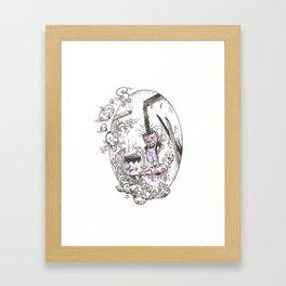 Kappaccino and Dekappa #4 Framed Art Print