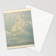 Vieja postal del cielo Stationery Cards