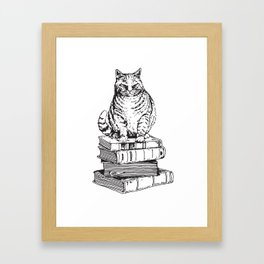Love Book Framed Art Print