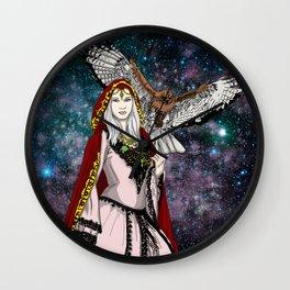 Nature Goddess Wall Clock
