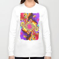 tropical Long Sleeve T-shirts featuring Tropical  by thea walstra