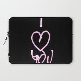 I Heart You- I love you saying Laptop Sleeve