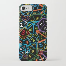 D&D (Dungeons and Dragons) - This is how I roll! iPhone Case