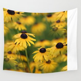 Field of Susans Wall Tapestry