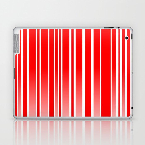 Red Track Laptop & iPad Skin