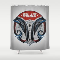 play Shower Curtains featuring Play by Andreas Preis