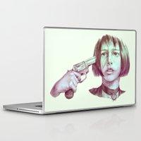 leon Laptop & iPad Skins featuring leon - mathilda  by Doruktan Turan