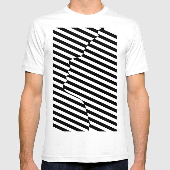 Side face T-shirt