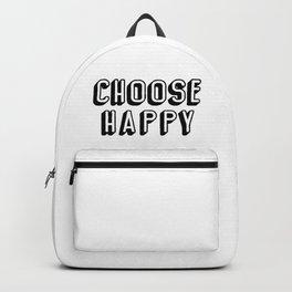 Choose Happy Backpack