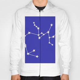 Sagittarius (White & Navy Blue Sign) Hoody
