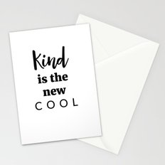 Kind Is The New Cool Stationery Cards