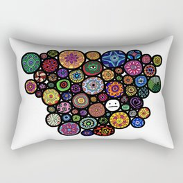 Trapped in marbles Rectangular Pillow