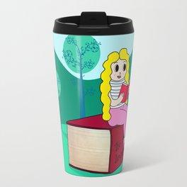 Biondina al sole Travel Mug