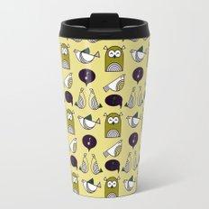 owl and birds pattern Travel Mug