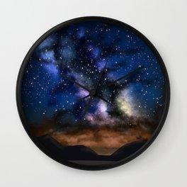 Space Mountian Wall Clock