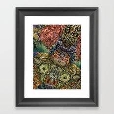 Psychedelic Botanical 1 Framed Art Print