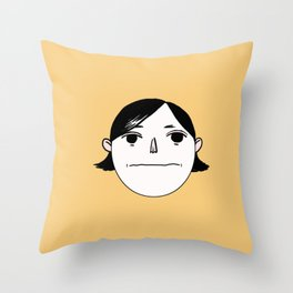 Blank Bobby Throw Pillow