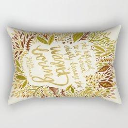 Zelda Fitzgerald – Fall Palette Rectangular Pillow