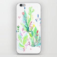 Plants In My Garden iPhone & iPod Skin