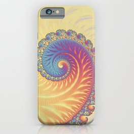 The Glow From Within - Fractal Art iPhone Case