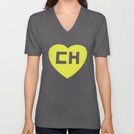 Ch El Chapulin Colorado El Chavo Funny Hispanic Colorado T-Shirts Unisex V-Neck