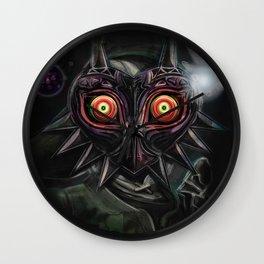 Legend of Zelda Majora's Mask Link Wall Clock