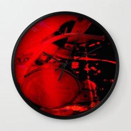 RED HONDA Wall Clock