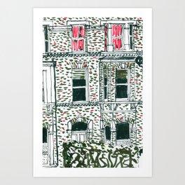 Across the road #2 Art Print