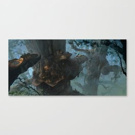 Below the Root Canvas Print
