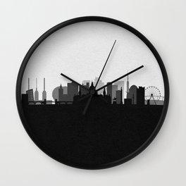 City Skylines: Hanover Wall Clock