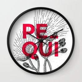 Pequi Wall Clock