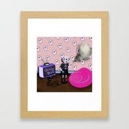 Cheater cheater Framed Art Print