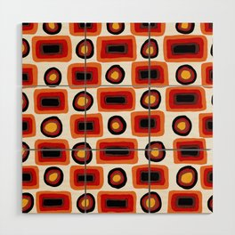 1970s africolor Wood Wall Art