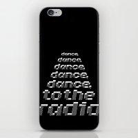 joy division iPhone & iPod Skins featuring Transmission - Joy Division by Werk Zerk