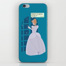 Cinderella - At home before midnight iPhone & iPod Skin