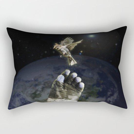 freeing Rectangular Pillow