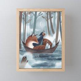 Star River Framed Mini Art Print