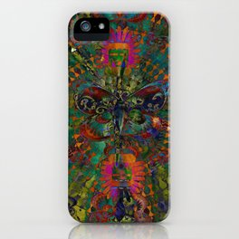 Butterfly dance V iPhone Case