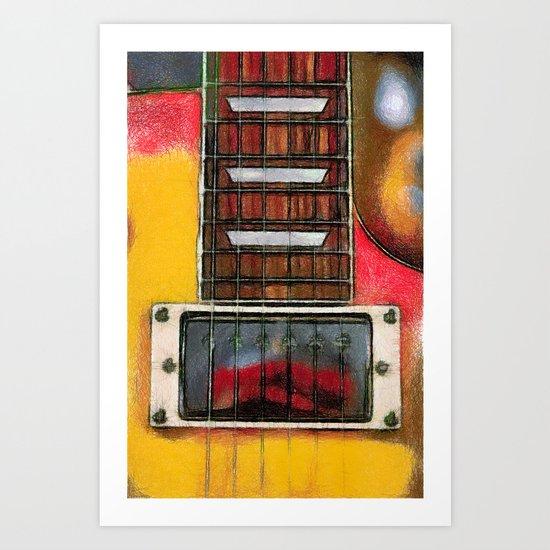 Guitar No. 2 Art Print