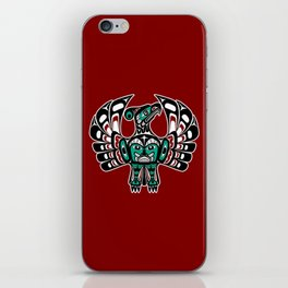 Northwest Pacific coast Haida art Thunderbird iPhone Skin