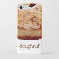doughnut iPhone & iPod Cases featuring Doughnut by lumvina