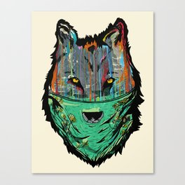 Wolf Mother - Screen Print Edition  Canvas Print
